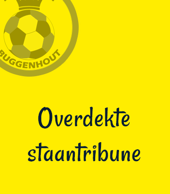 Abonnement overdekte staantribune